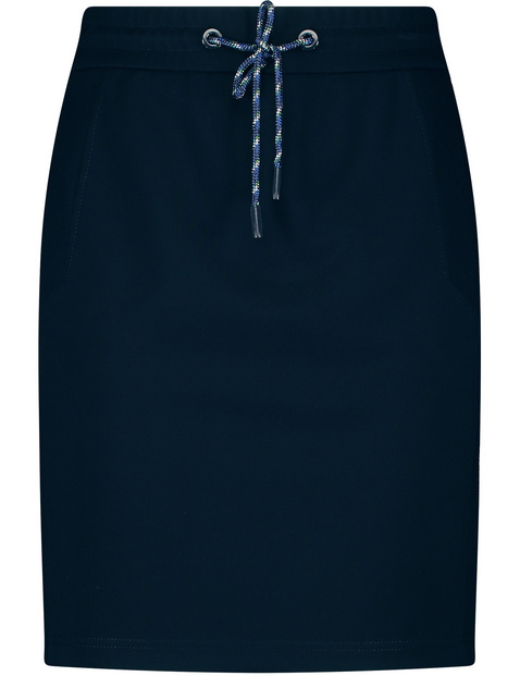 Skirt with a drawstring