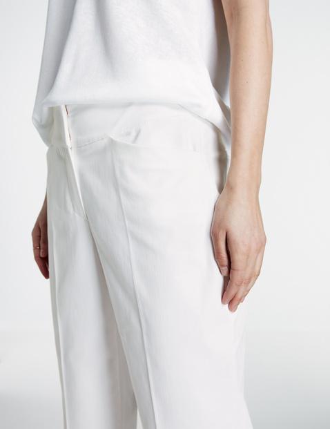 7/8-broek Straight met hoge band