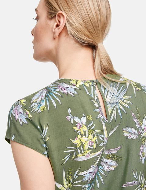 Blusenshirt mit Floral-Print