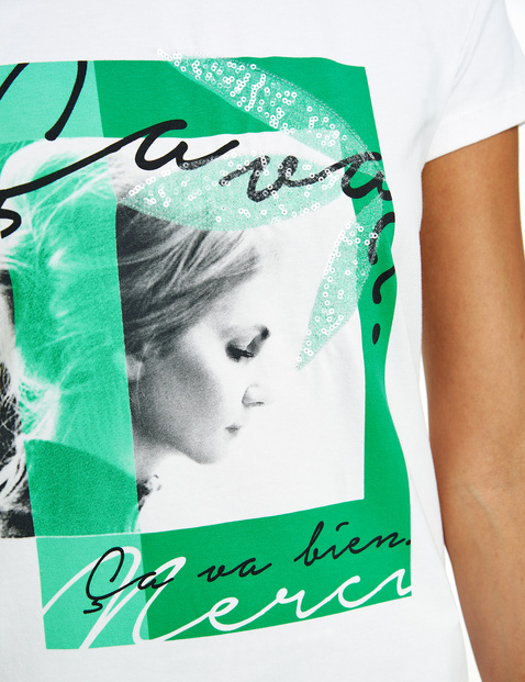 T-shirt z fotonadrukiem