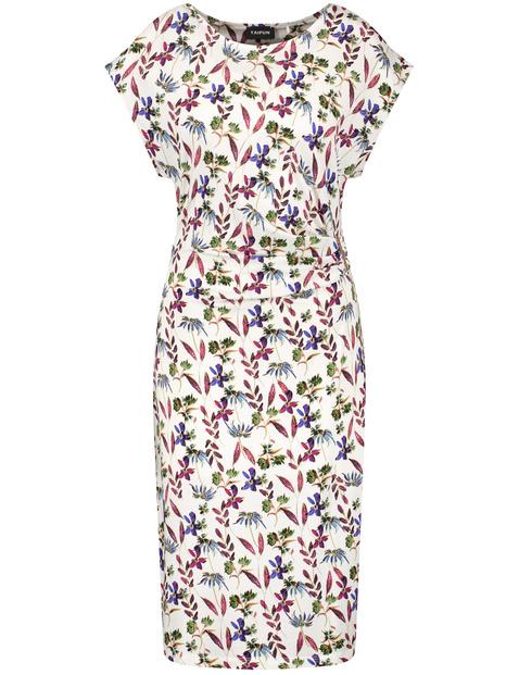 Jerseykleid mit Blüten-Print EcoVero