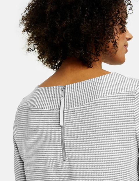 Shirt aus Struktur-Qualität
