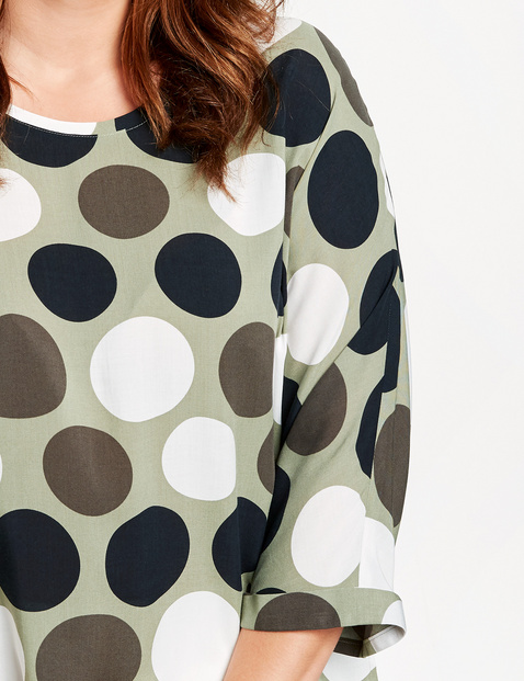 3/4 Arm Bluse mit Dots