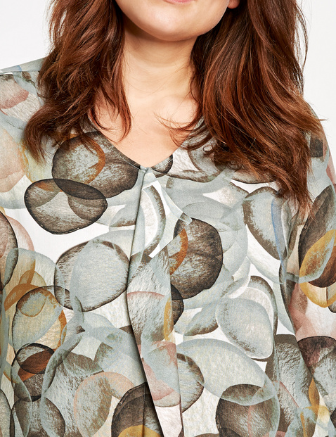 Casual blouse met print