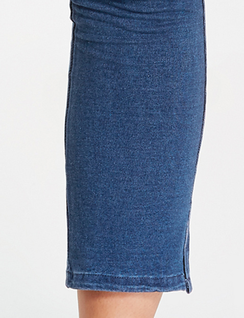 Jeggings in a denim style
