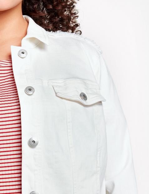 Jeansjacke mit Schößchen