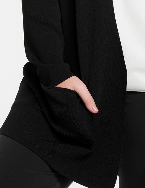 Offener Feinstrick-Cardigan