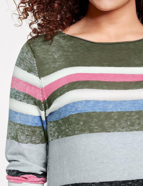 Pullover mit Handmade-Print