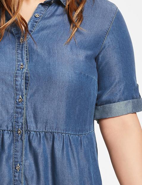 Jeanskleid aus Lyocell