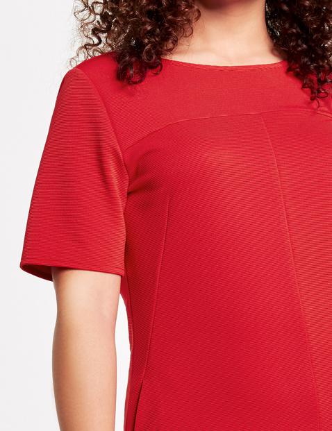 Kleid mit Ripp-Struktur
