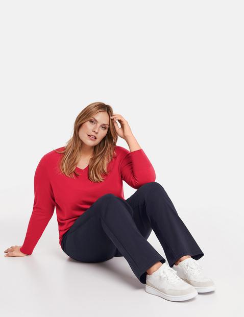 Jenny stretchbroek met comfortabele pijpen