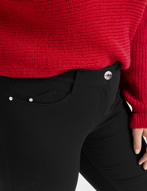 Petite stretch trousers, Betty