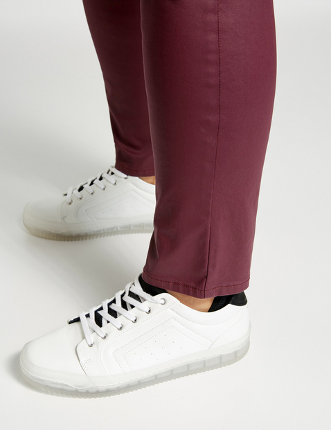 Broek met coating Betty