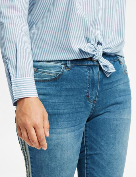 Lange blouse met strepen