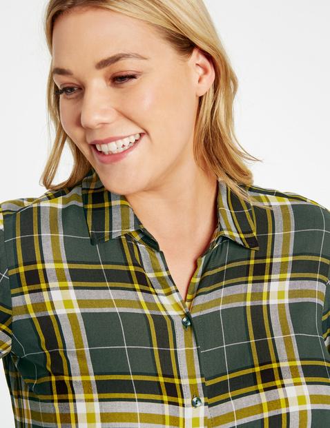 Sportowa bluzka w kratkę