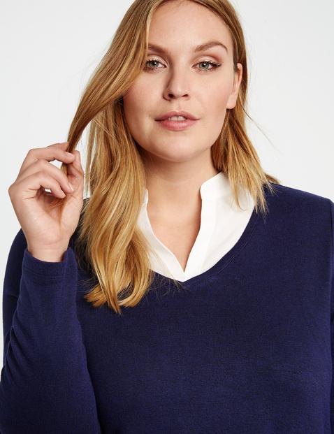 Shirt im Lagen-Look