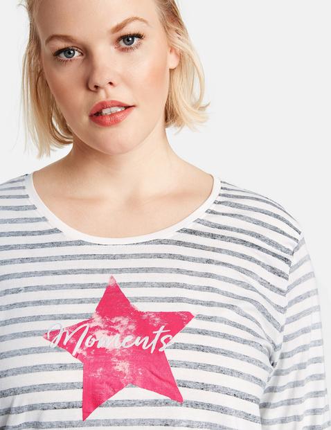Ringel-Shirt mit Stern