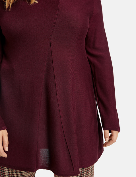 Pullover in A-Linie