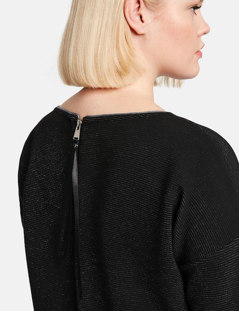 Jerseykleid mit Glitzer