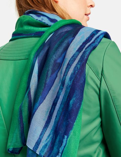 Schal im Streifen-Design