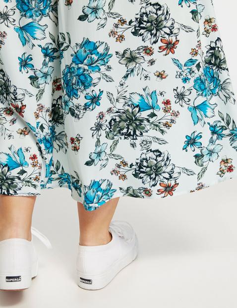 Dłuższa spódnica w kopertowym stylu