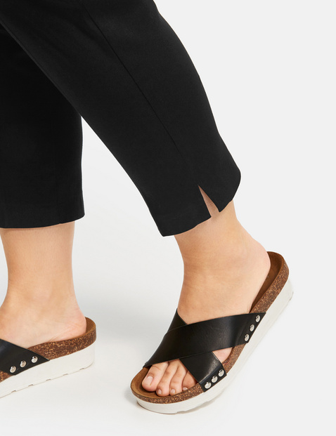 7/8-length trousers with stretch for comfort, Greta