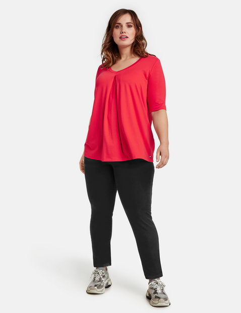 slim fit jeans lucy schwarz samoon plus size. Black Bedroom Furniture Sets. Home Design Ideas