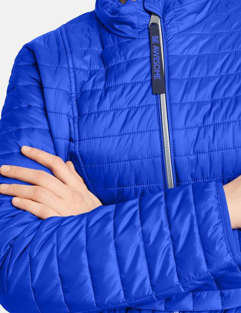 Lekko ocieplana pikowana kurtka