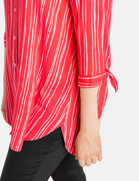 Long striped blouse