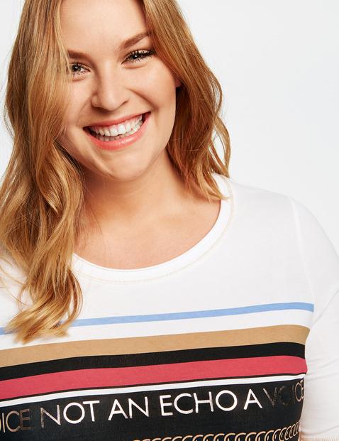 T-shirt z nadrukiem z przodu