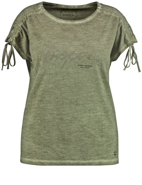 Shirt mit Front-Applikation organic cotton