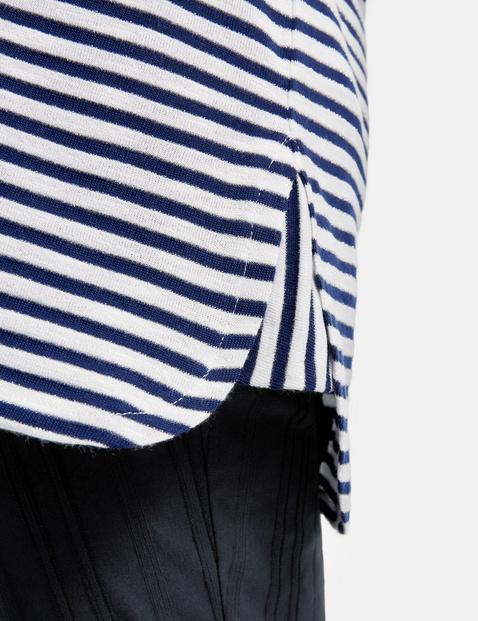 Shirt met streepmotief