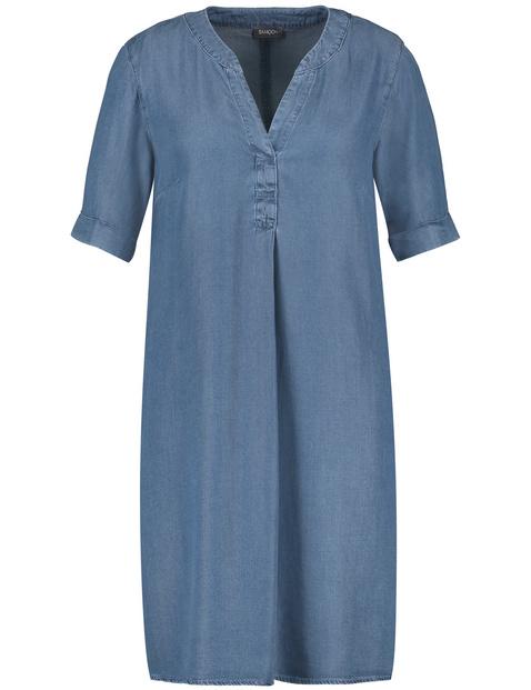 Sukienka z miękkiego dżinsu