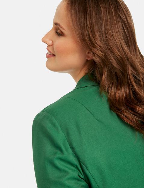 Modern one-button blazer