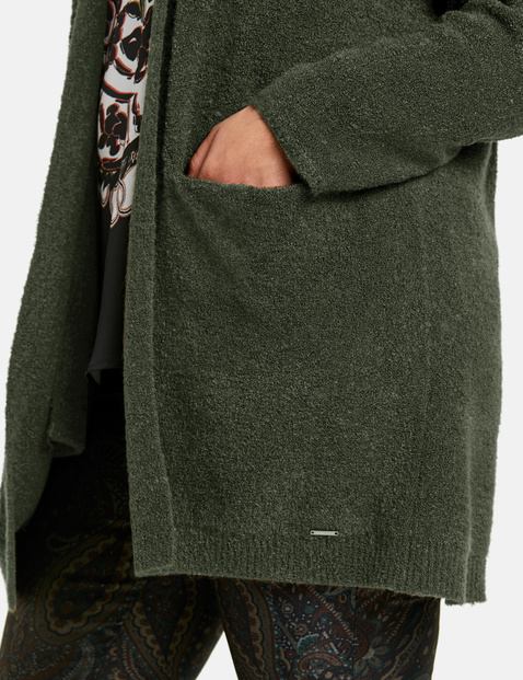 Offener Long-Cardigan