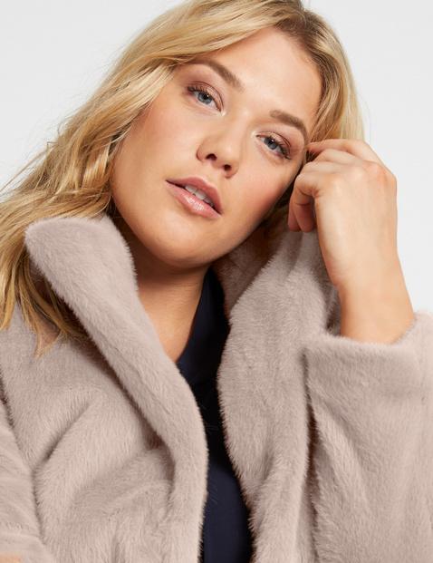 Jacke aus weichem Fake Fur