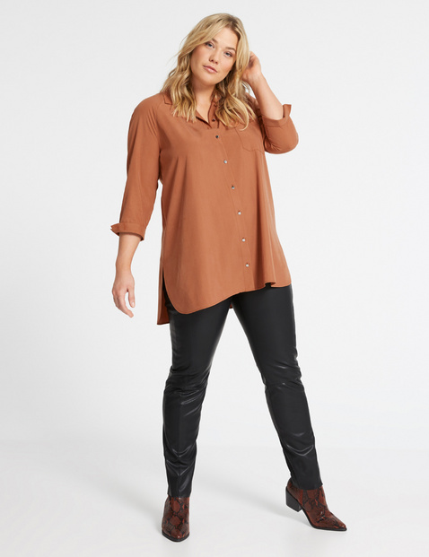 Casual lange blouse