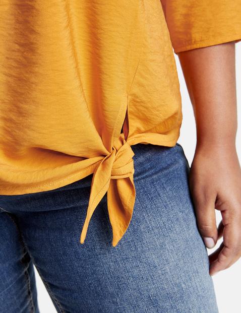 Blusenshirt mit Knotendetail
