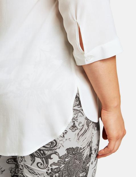 Bluse mit 3/4 Arm