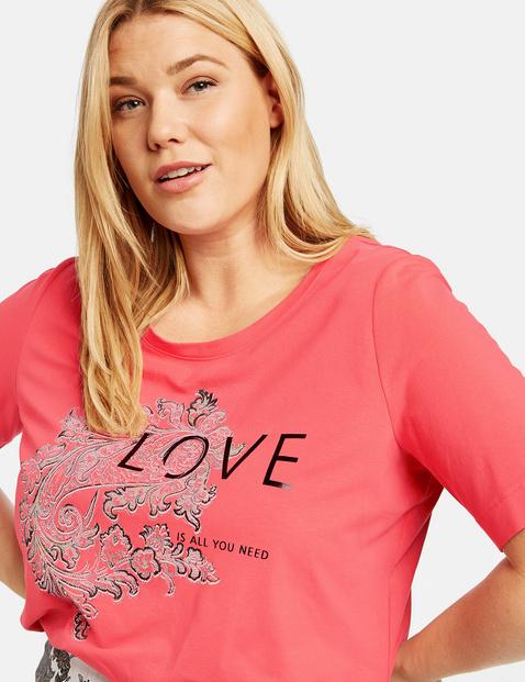 Statement shirt van organic cotton