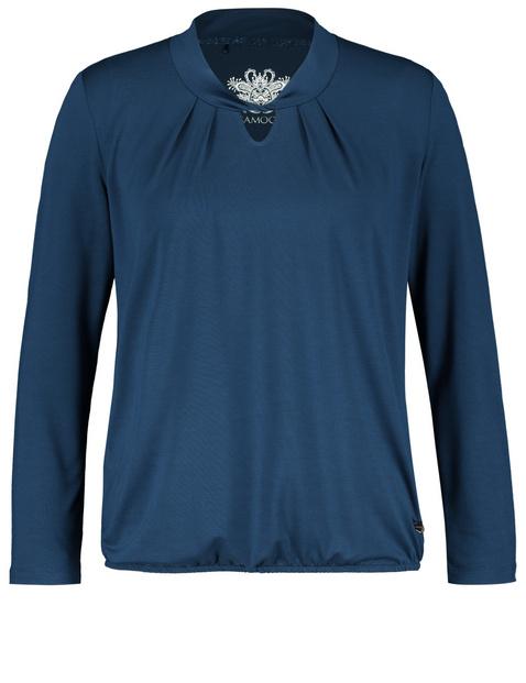 Shirt van zacht modal