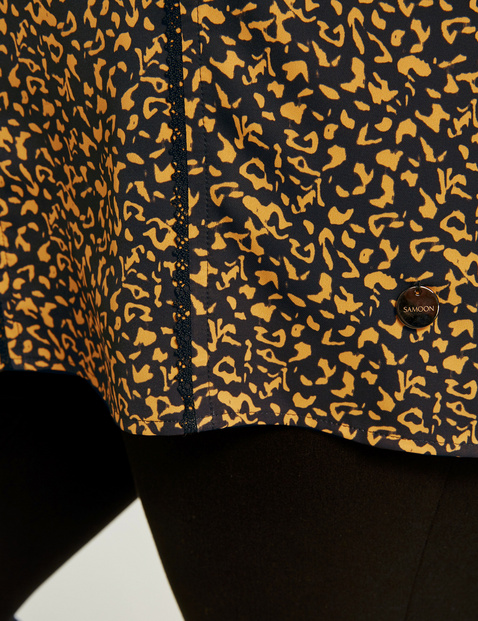 3/4 Arm Shirt mit Animal-Print