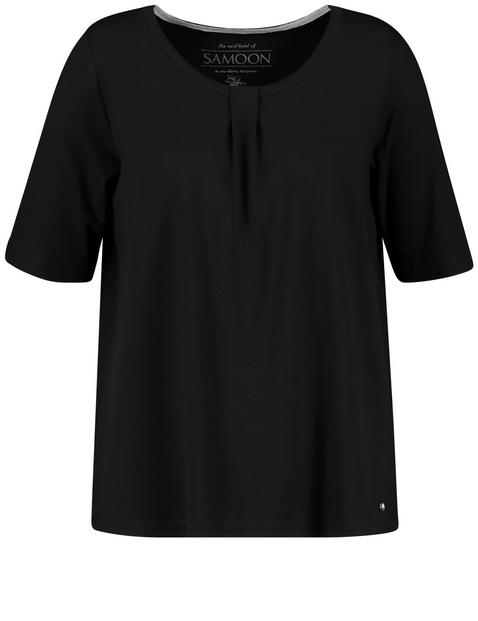 Leicht ausgestelltes Shirt