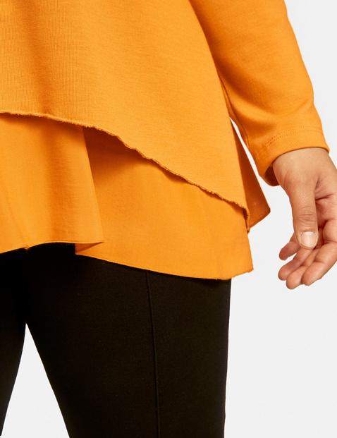 Blusenshirt in A-Linie
