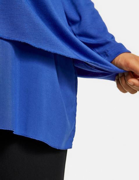 Blouseachtig shirt in A-lijn