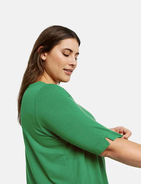 Casual shirt met halflange mouwen