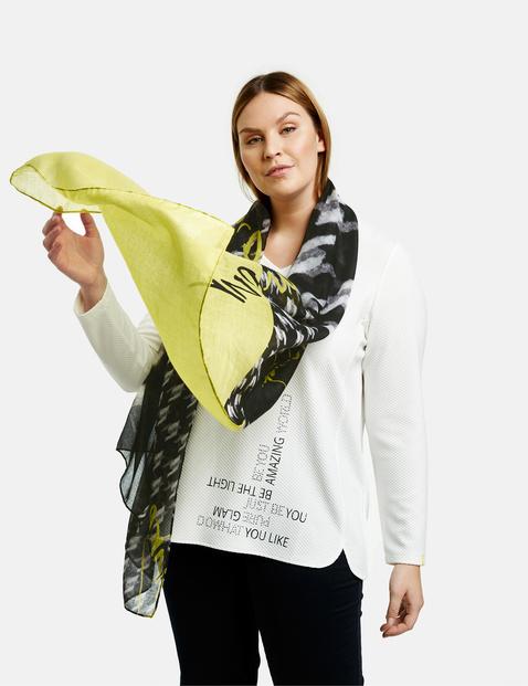 Sjaal met pied-de-poule ruiten