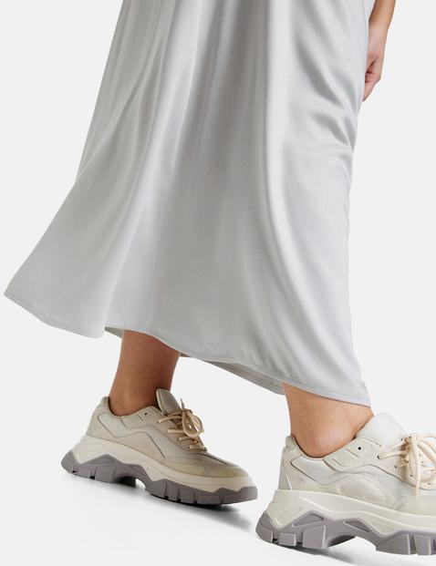 Lejąca spódnica maxi