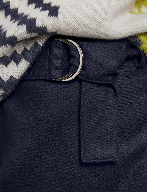 Skirt in blended wool