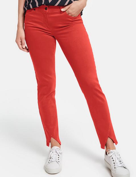 Kolorowe dżinsy skinny